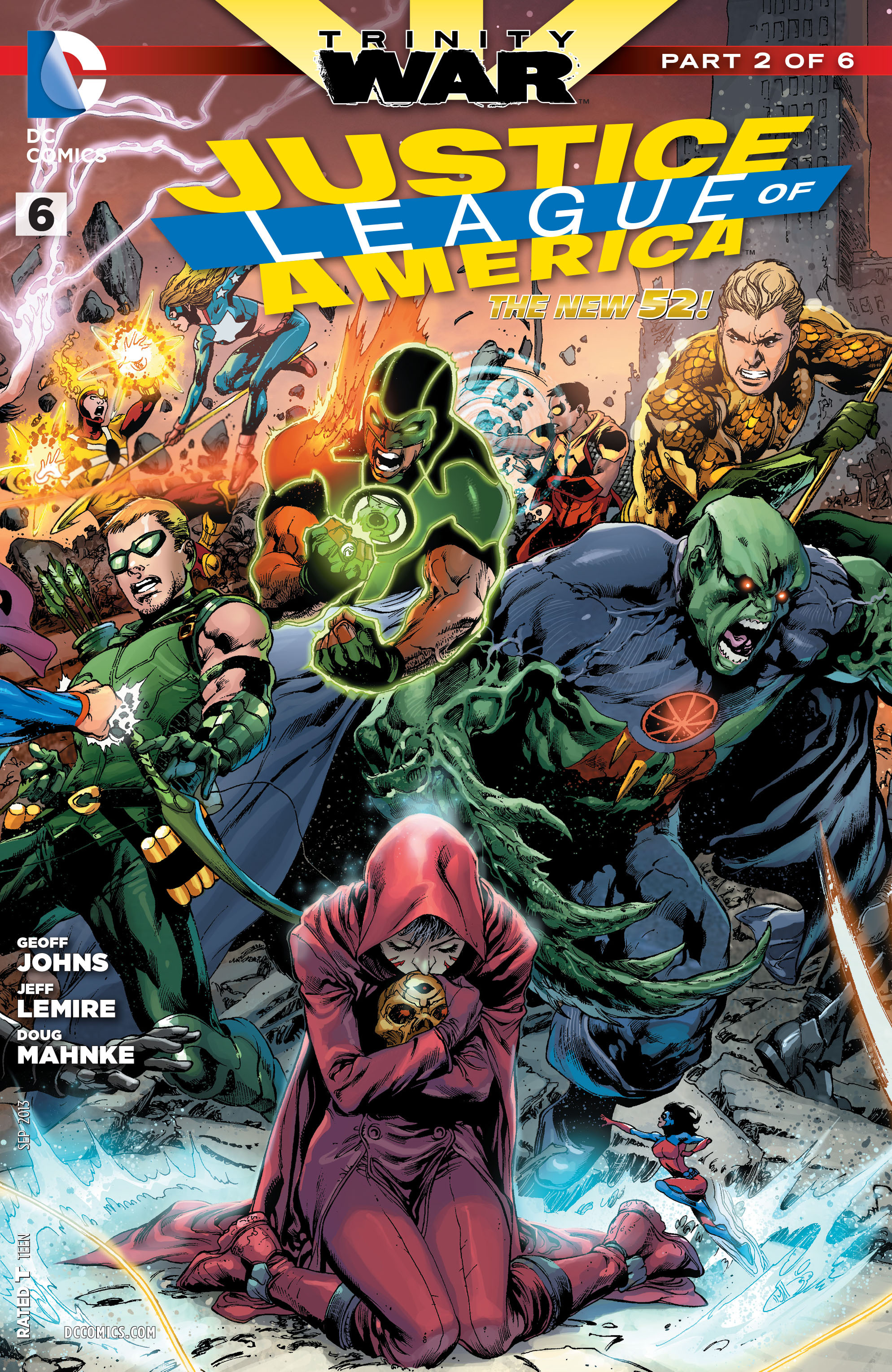 Justice League of America Vol 3 6