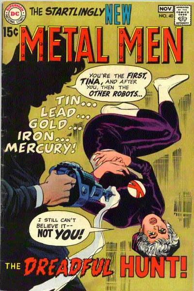 Metal Men Vol 1 40
