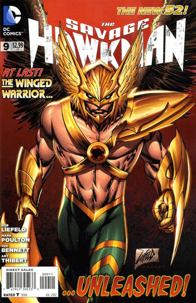 Savage Hawkman Vol 1 9