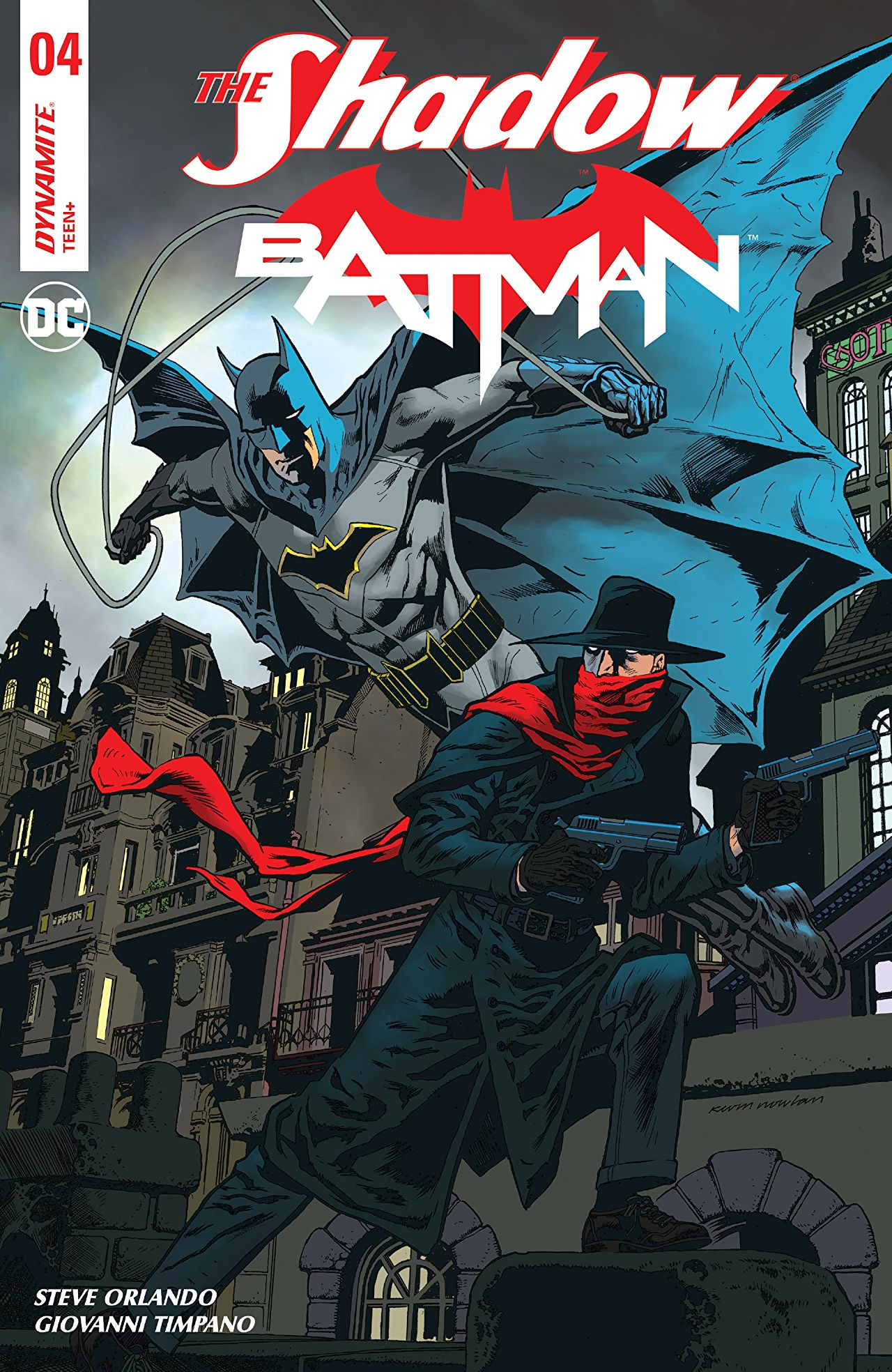 The Shadow/Batman Vol 1 4