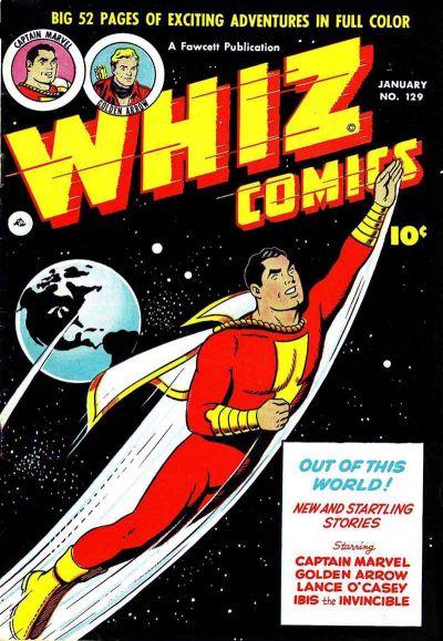 Whiz Comics Vol 1 129
