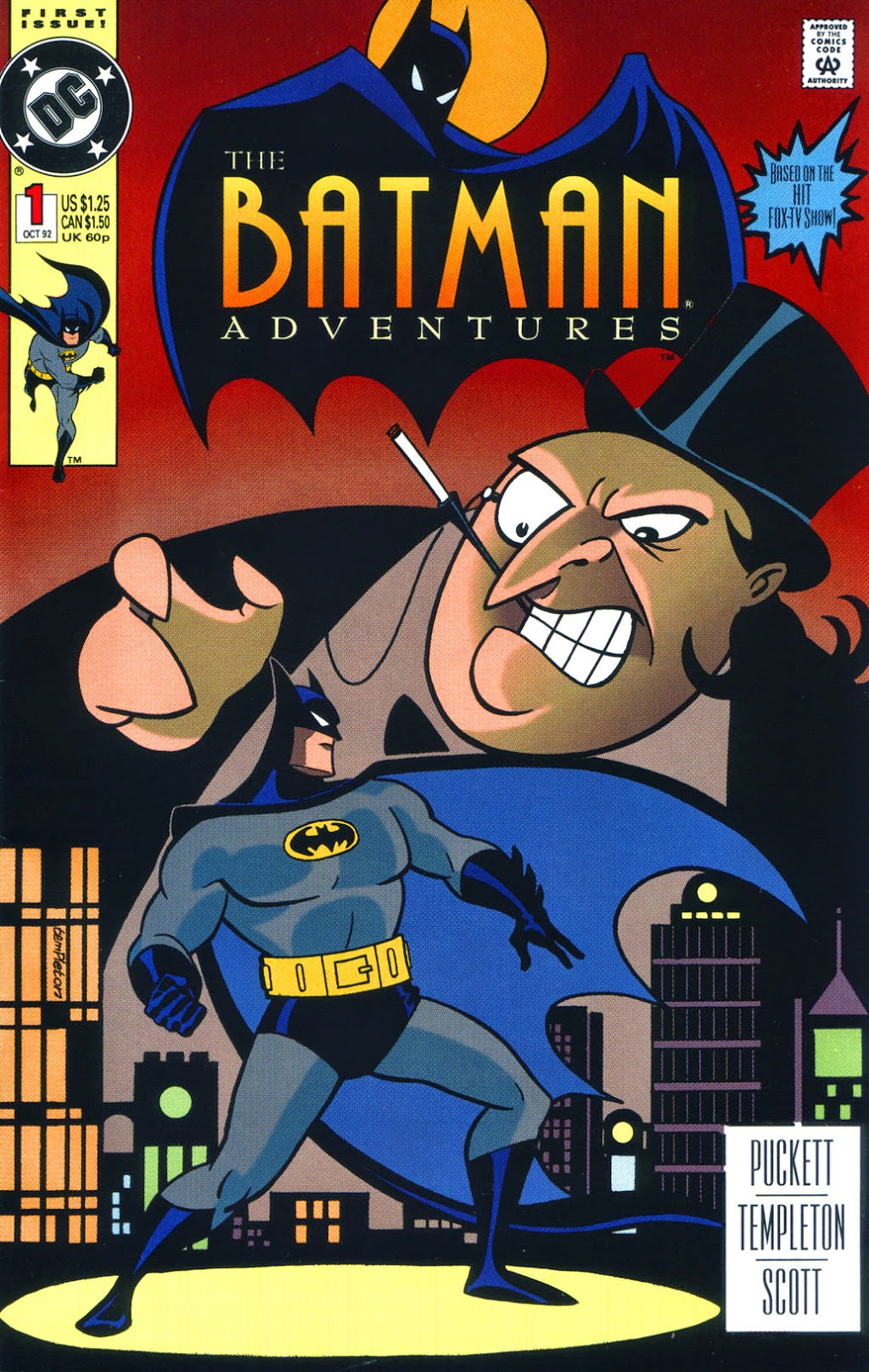 Batman Adventures Vol 1 1