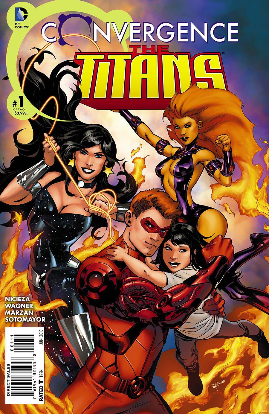 Convergence: Titans Vol 1