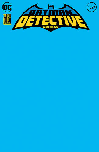 Blue Blank Cover