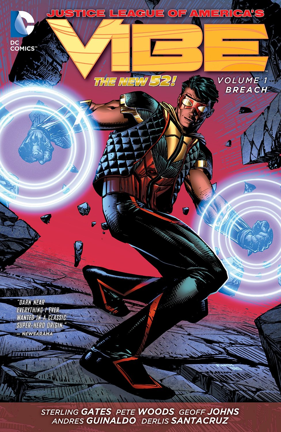 Justice League of America's Vibe: Breach (Collected)