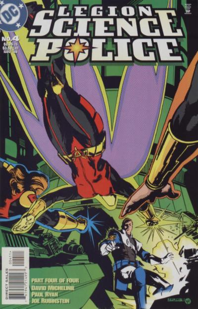 Legion: Science Police Vol 1 4
