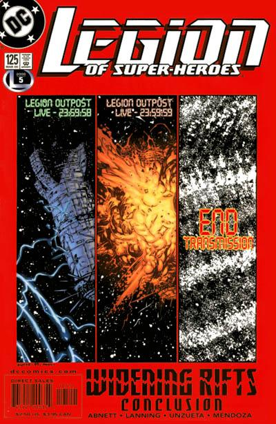 Legion of Super-Heroes Vol 4 125