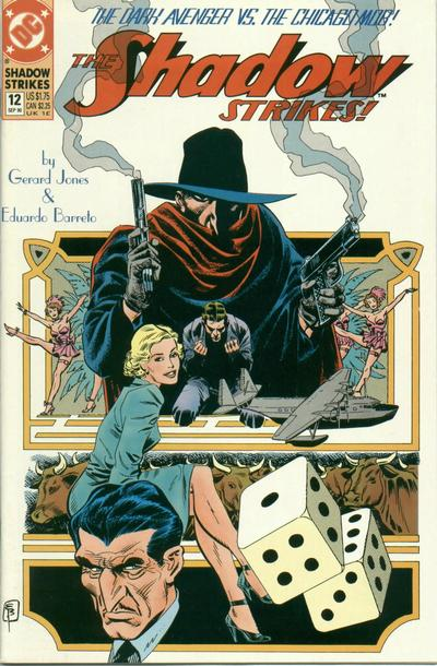 The Shadow Strikes! Vol 1 12