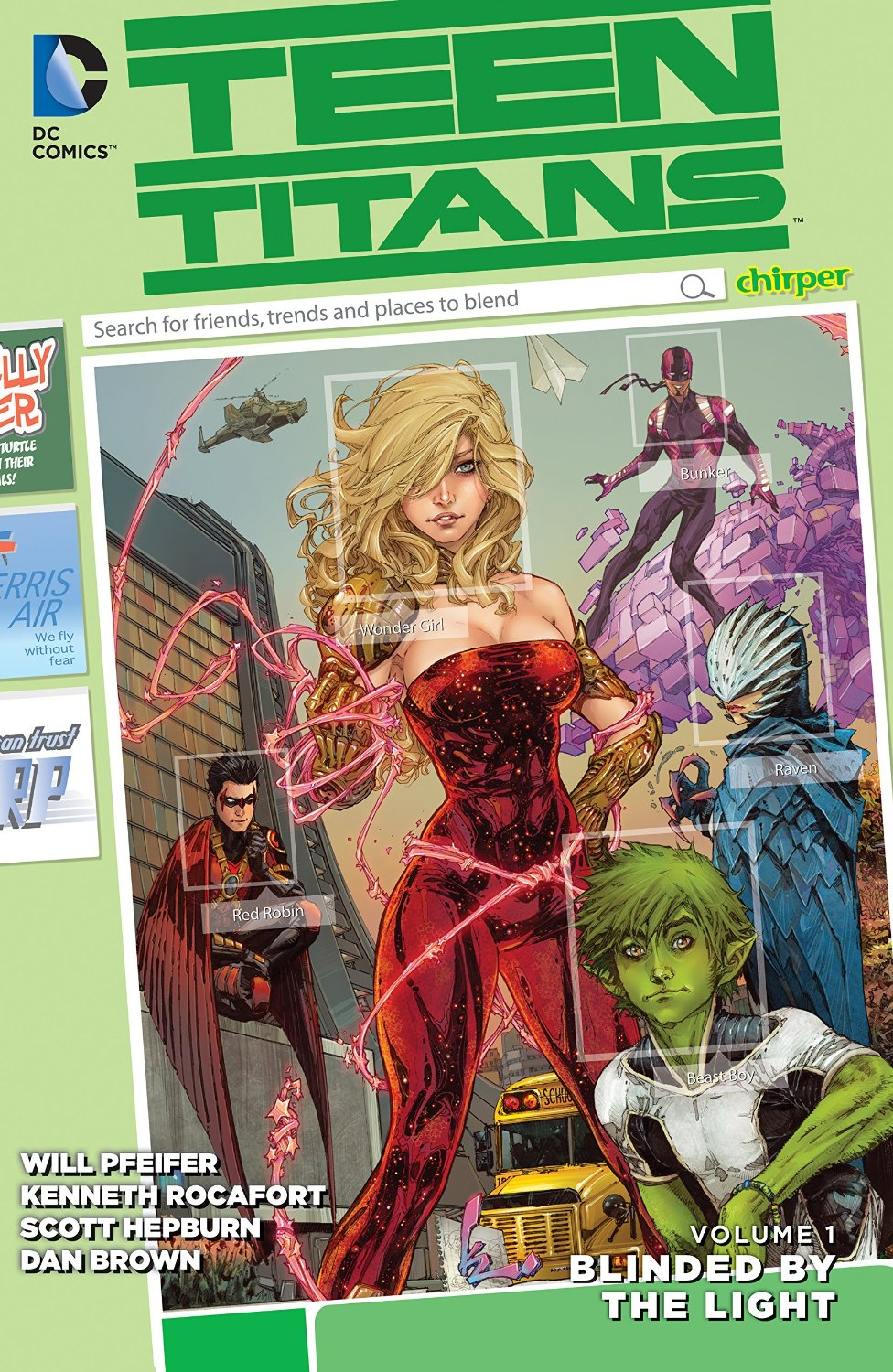 Teen Titans: Blinded by the Light (Collected)