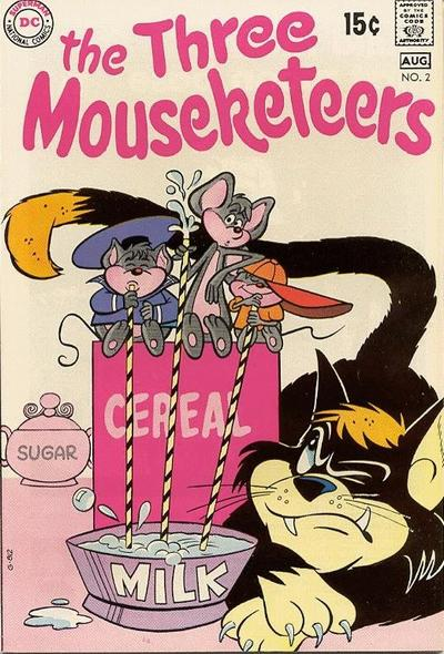 The Three Mouseketeers Vol 2 2