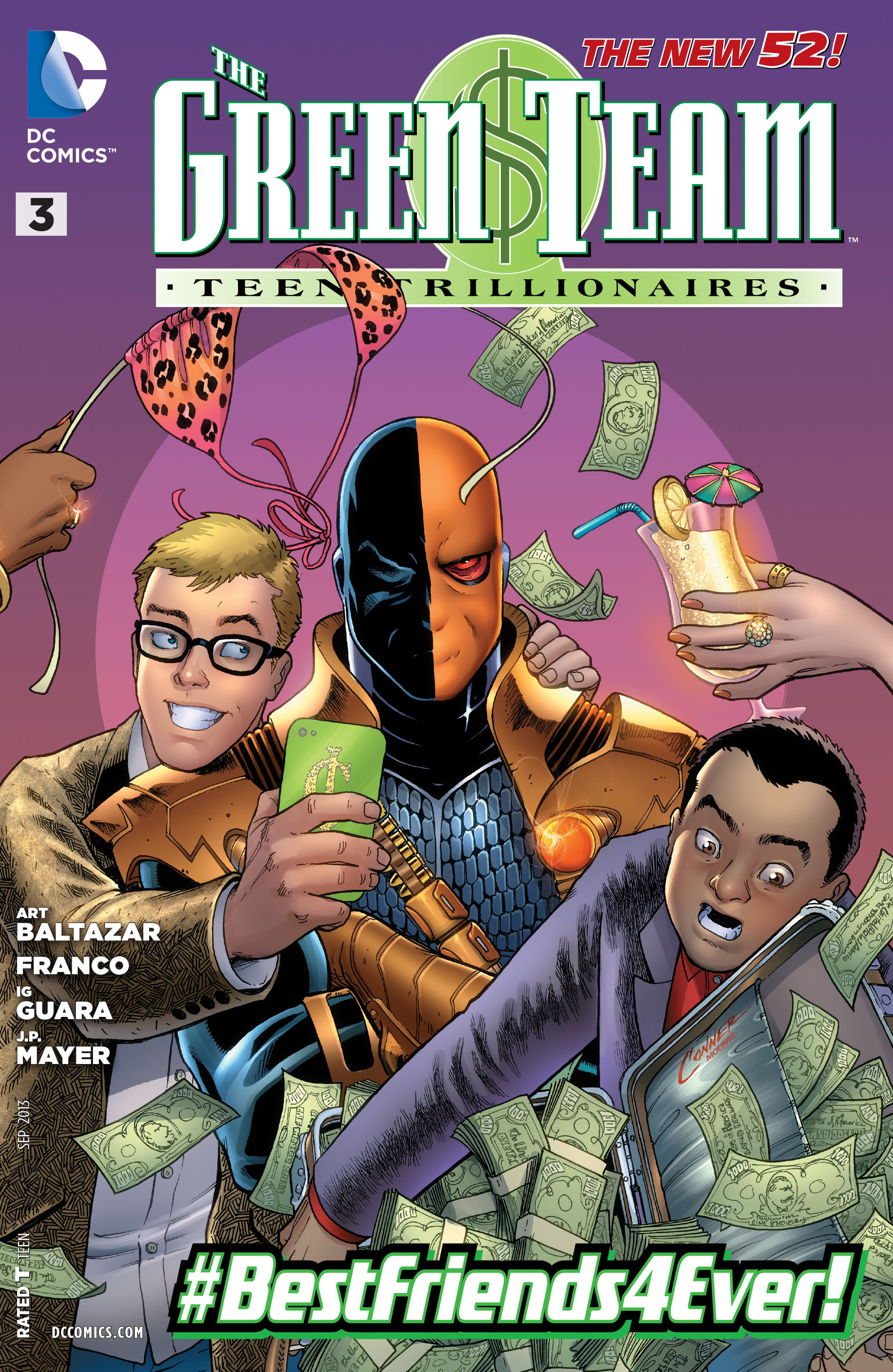Green Team: Teen Trillionaires Vol 1 3