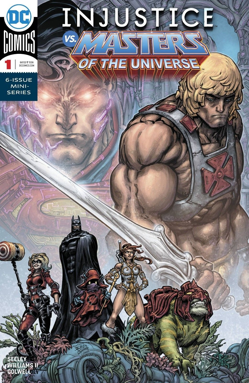 Injustice vs. Masters of the Universe Vol 1 1
