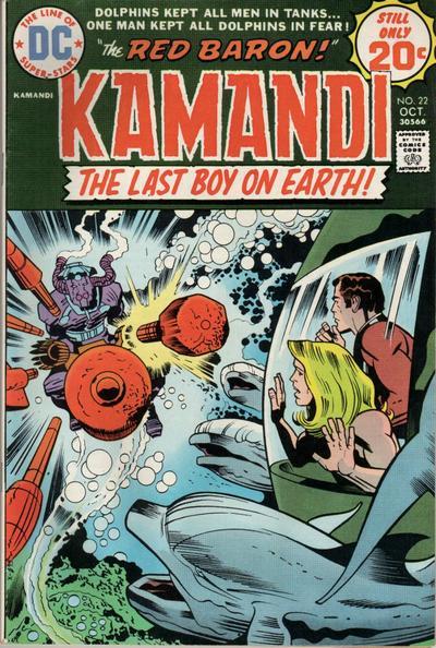 Kamandi Vol 1 22