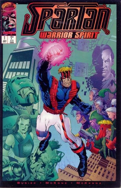 Spartan: Warrior Spirit Vol 1 1