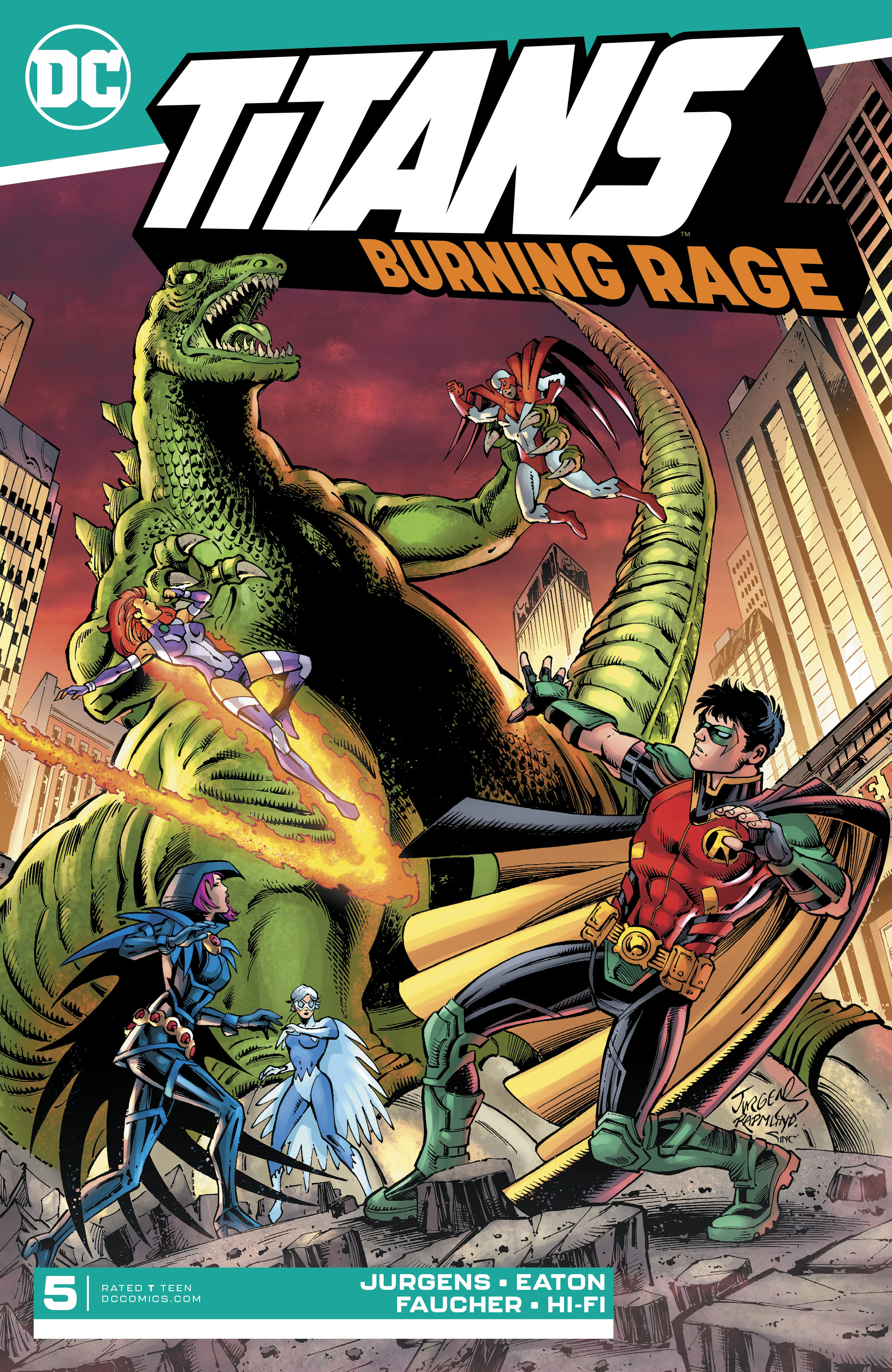 Titans: Burning Rage Vol 1 5