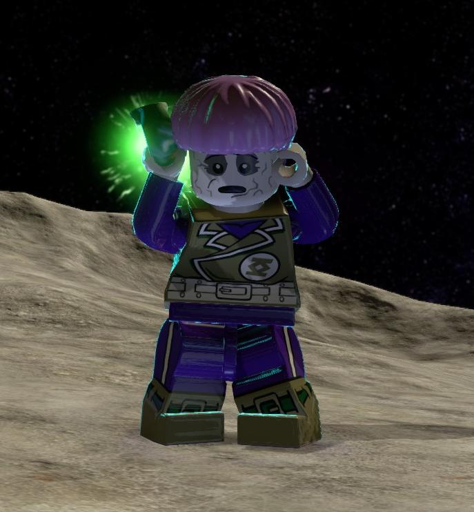 Greenzarro (Lego Batman)