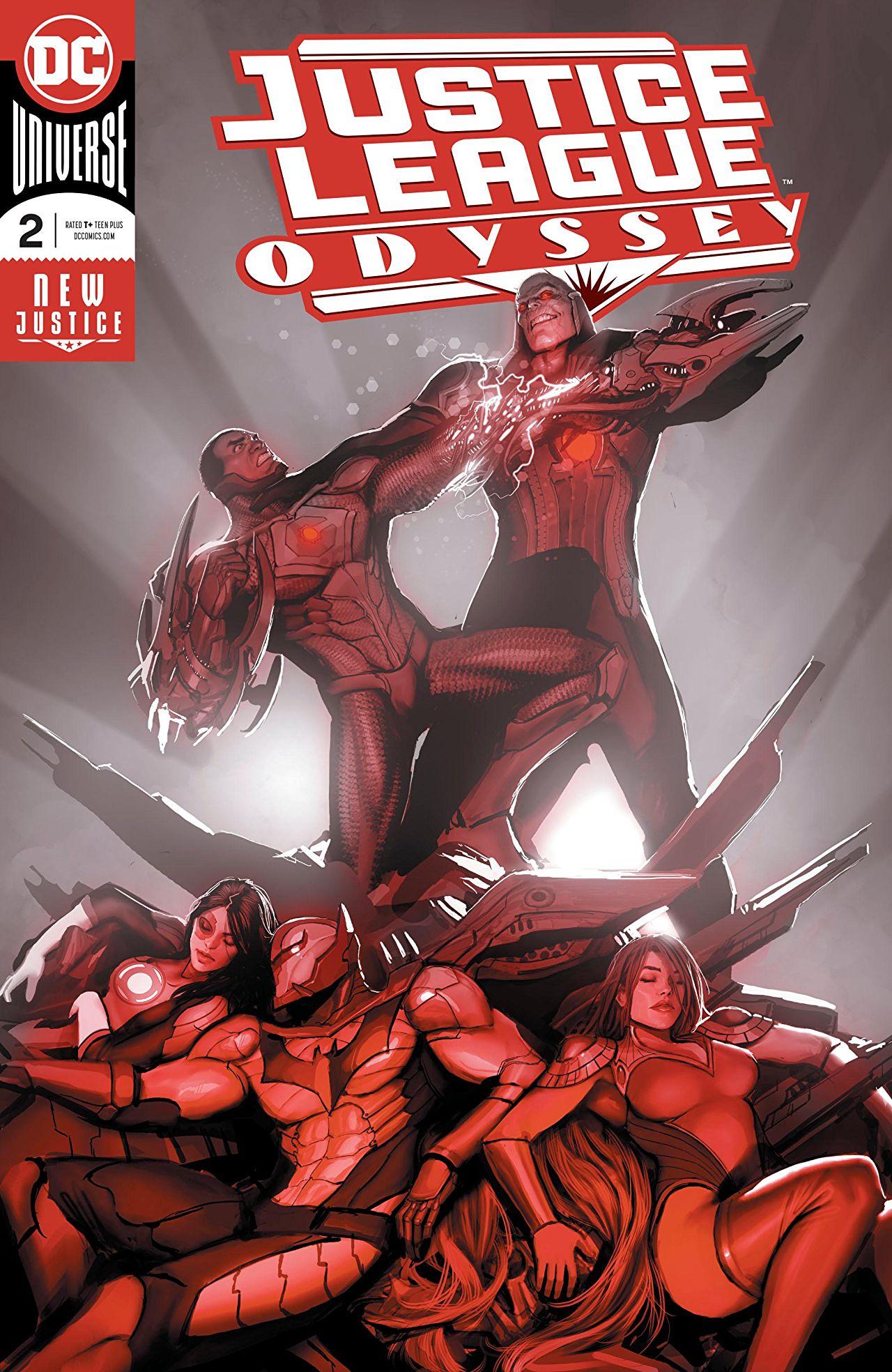 Justice League Odyssey Vol 1 2