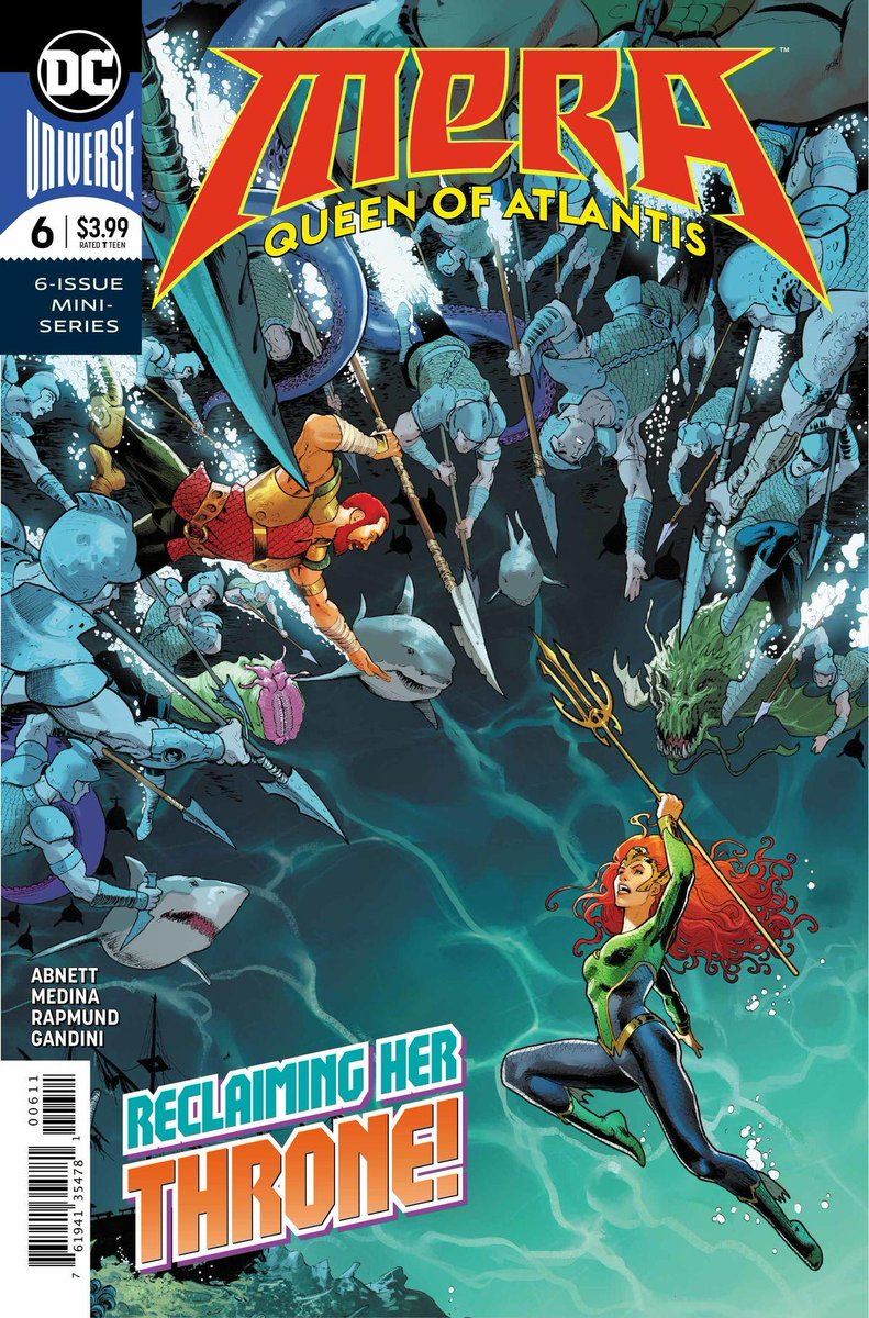 Mera: Queen of Atlantis Vol 1 6