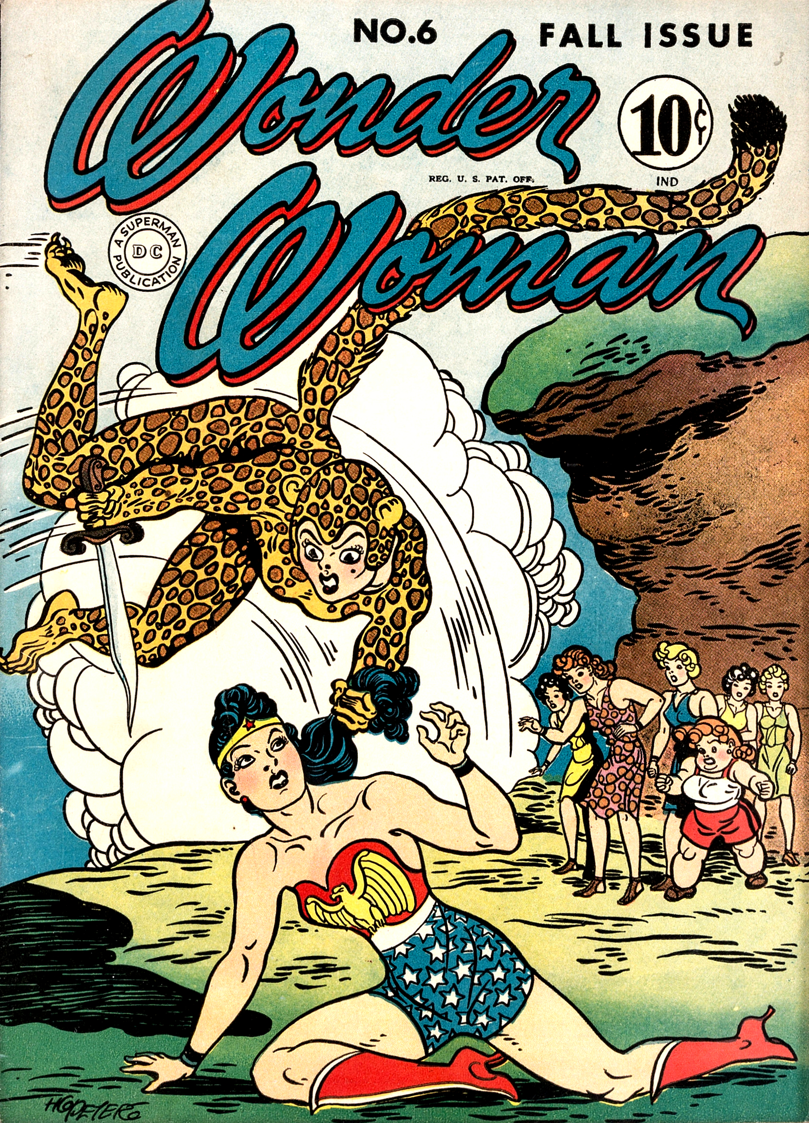 Wonder Woman Vol 1 6
