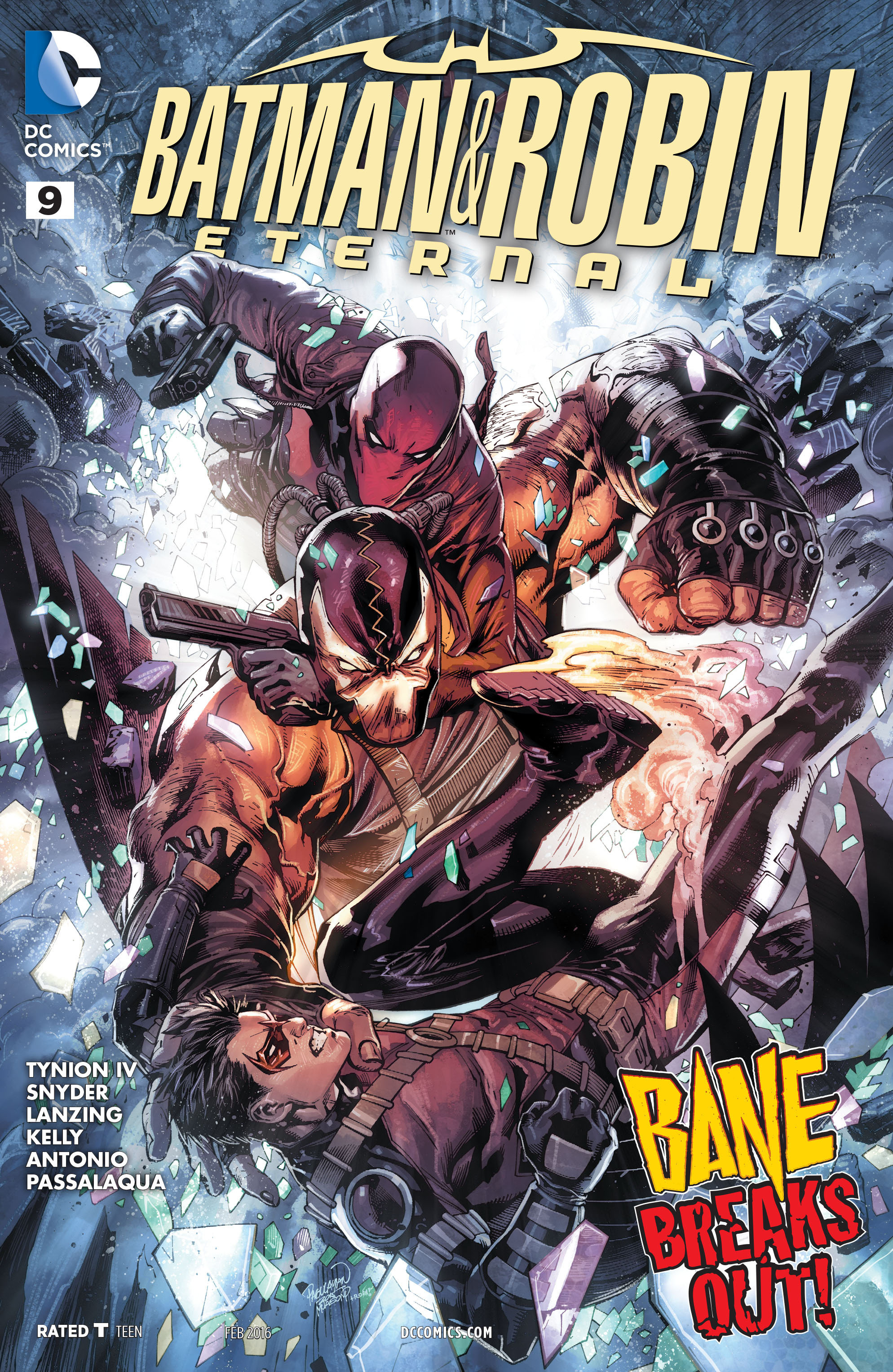 Batman & Robin Eternal Vol 1 9