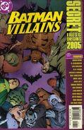 Batman Villains Secret Files and Origins 2005