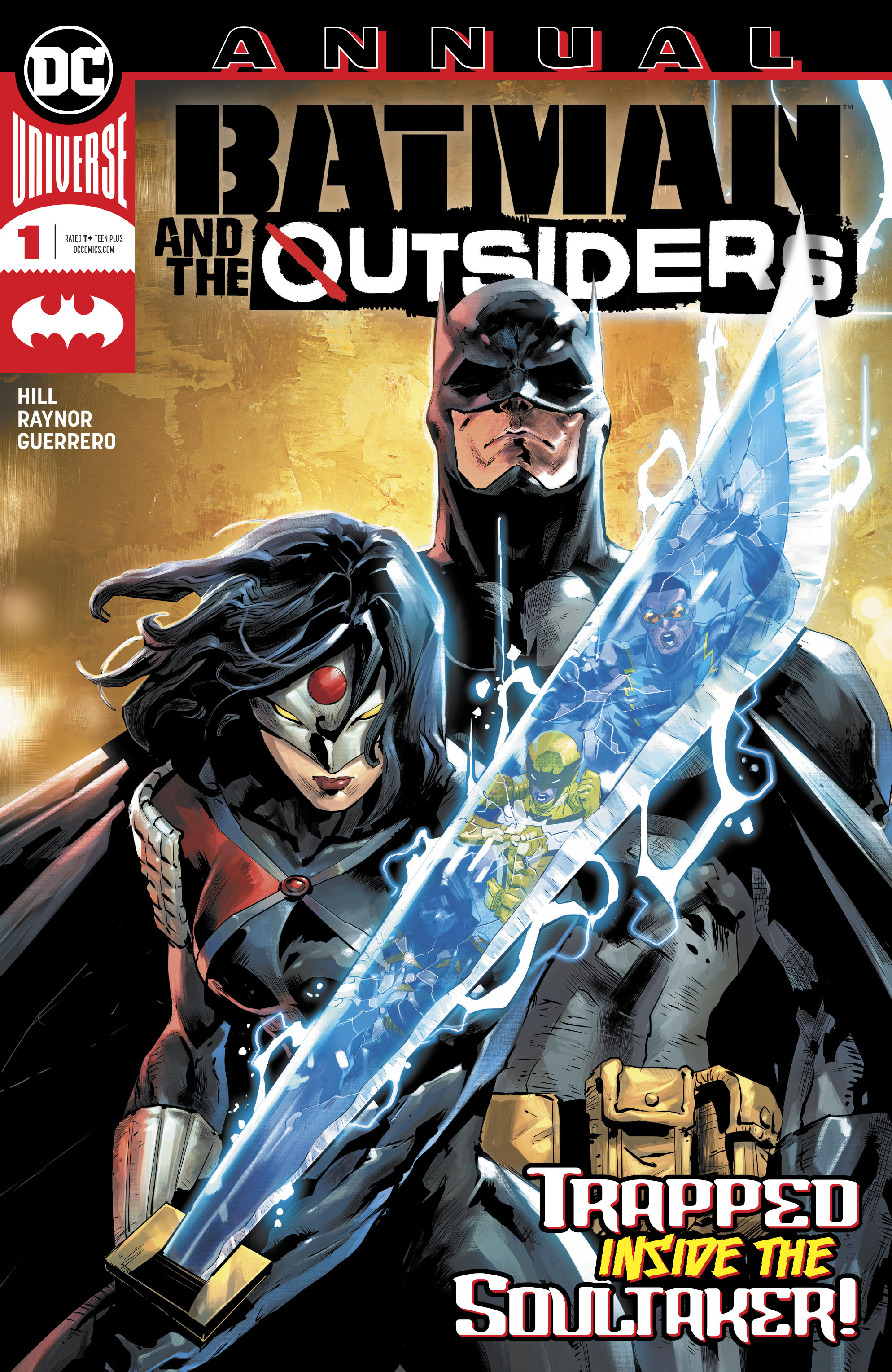 Batman and the Outsiders Annual Vol 3 1