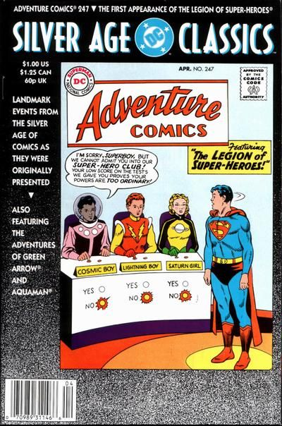 DC Silver Age Classics: Adventure Comics Vol 1 247