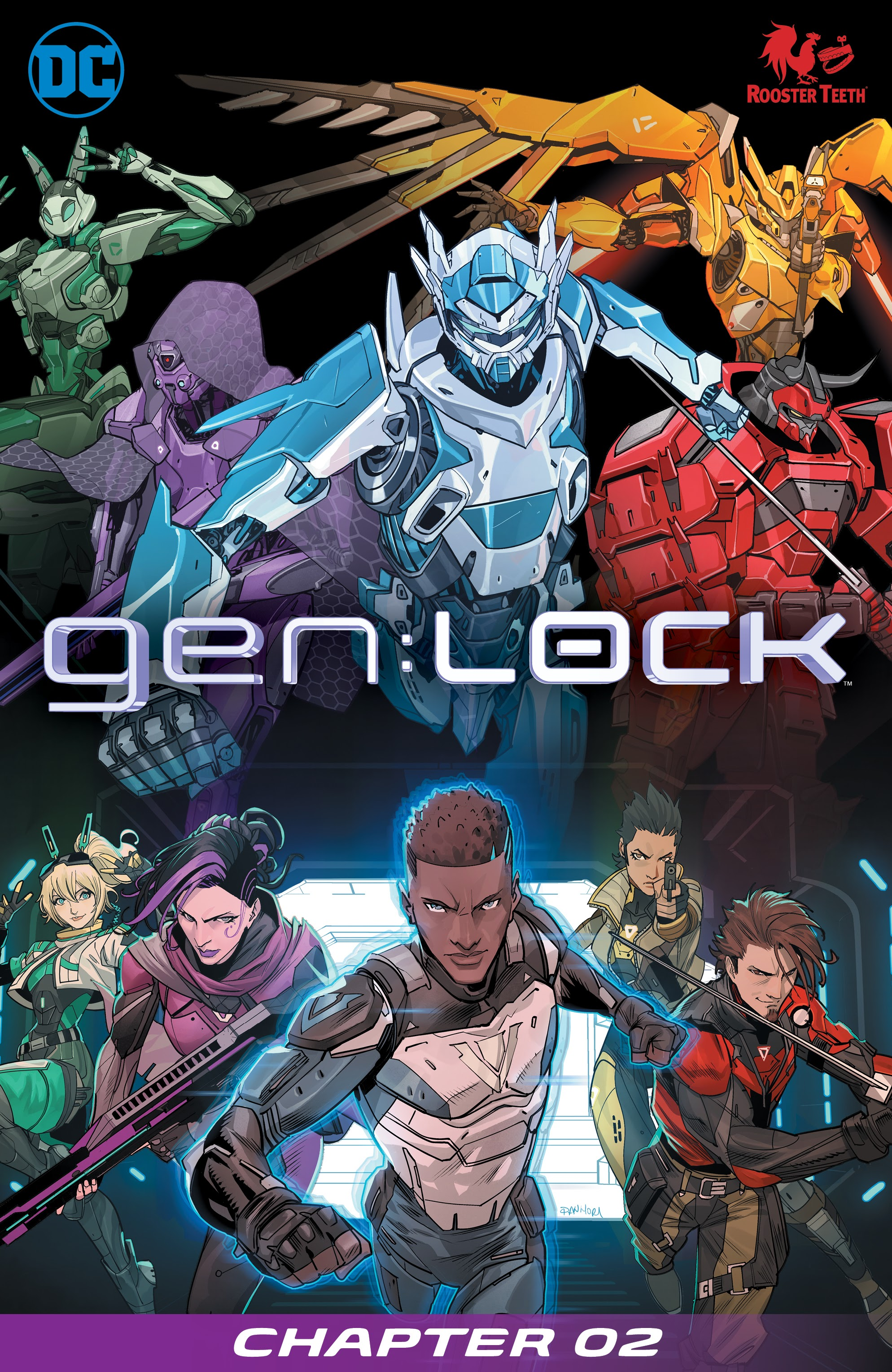 Gen:Lock Vol 1 2 (Digital)