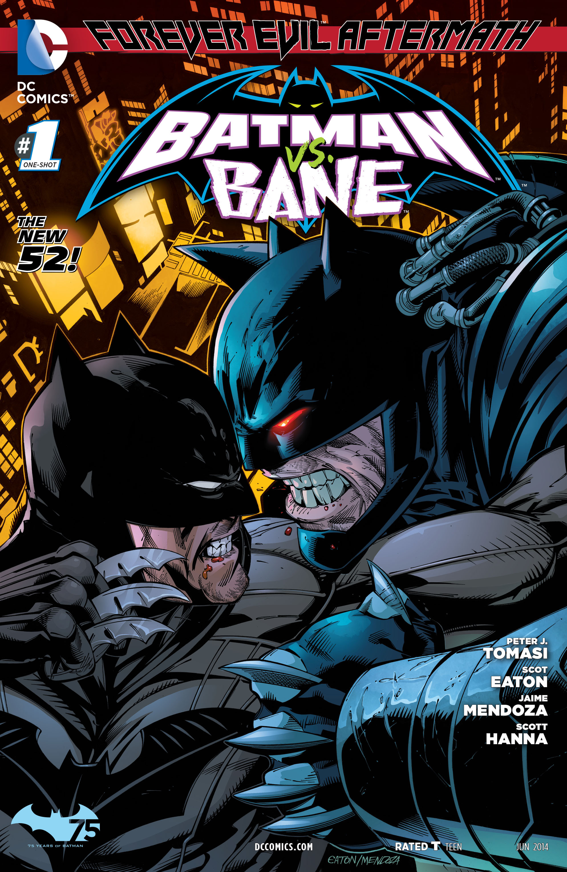 Forever Evil Aftermath: Batman vs. Bane Vol 1 1