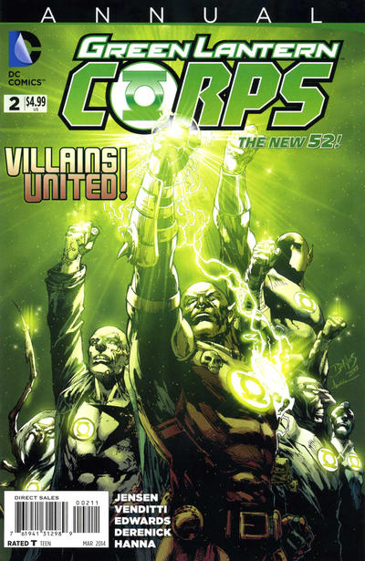 Green Lantern Corps Annual Vol 3 2