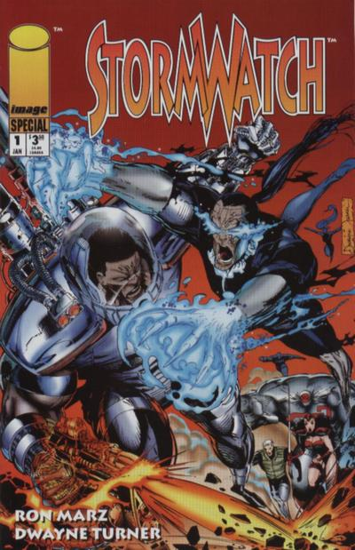 Stormwatch Special Vol 1 1