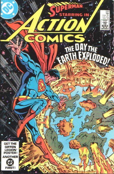 Action Comics Vol 1 550