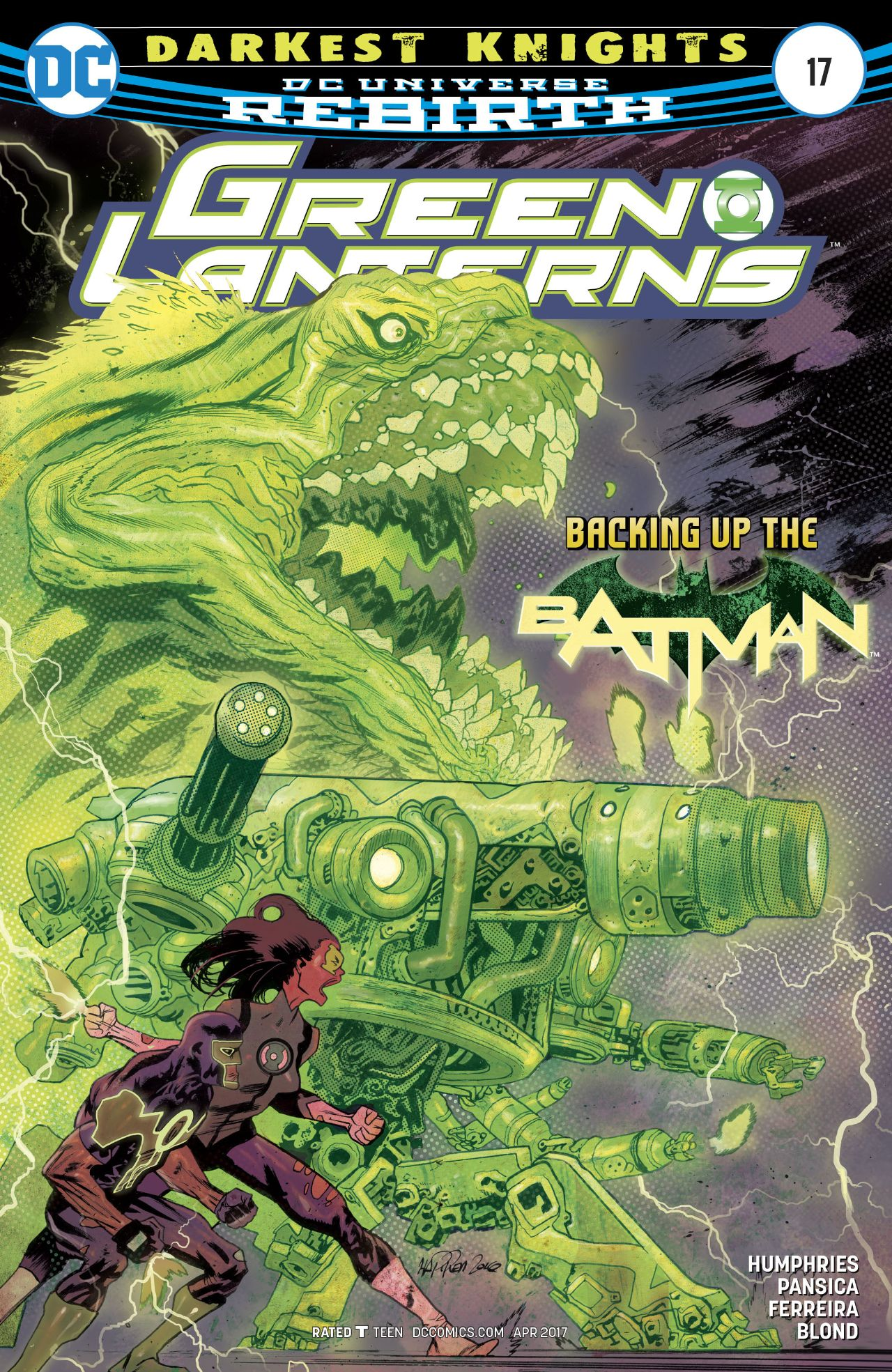Green Lanterns Vol 1 17