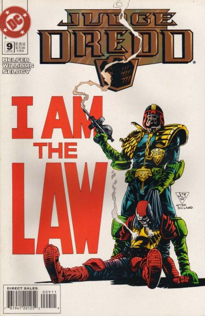 Judge Dredd Vol 1 9