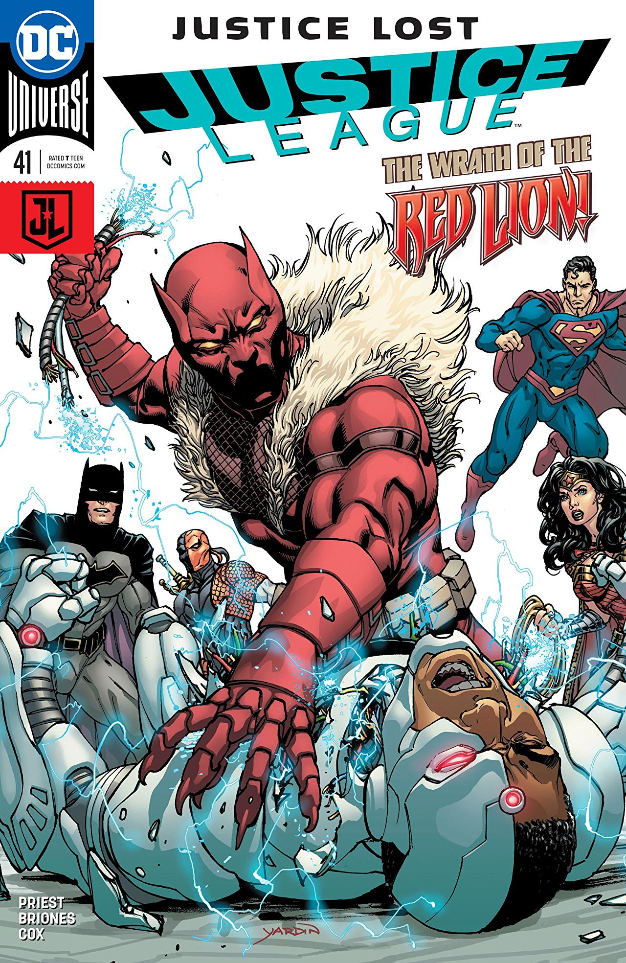 Justice League Vol 3 41