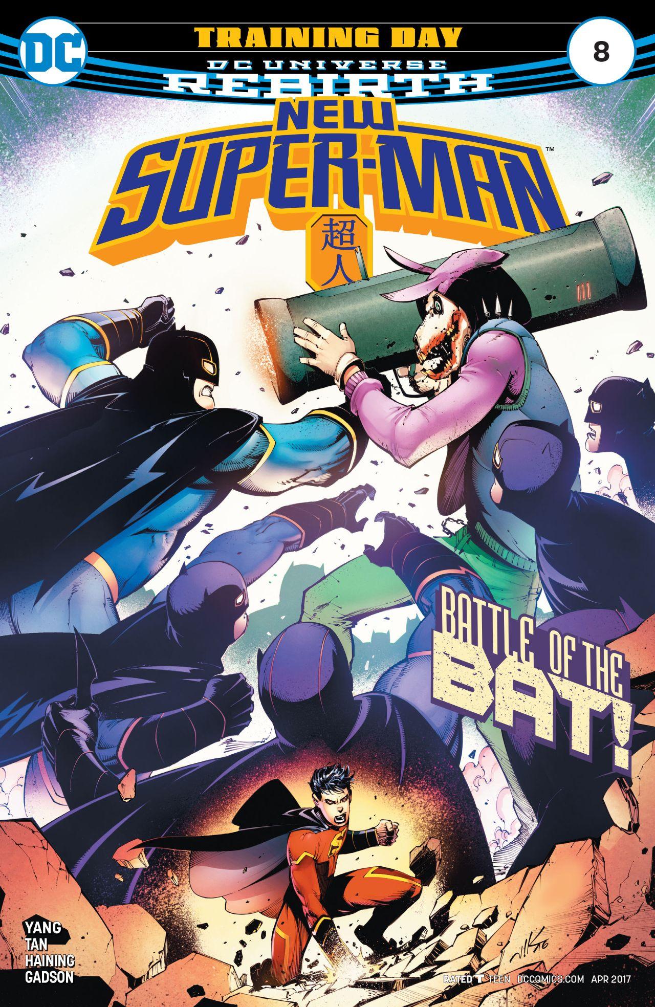 New Super-Man Vol 1 8