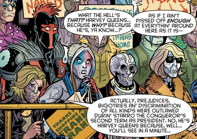 Starro the Conqueror (Old Lady Harley)