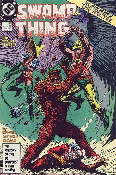 Swamp Thing Vol 2 58