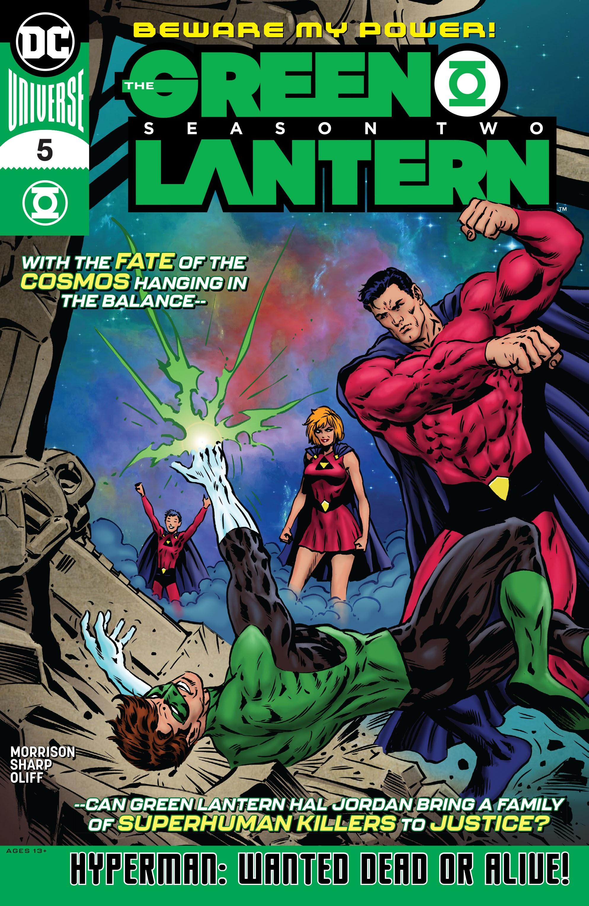 The Green Lantern: Season Two Vol 1 5