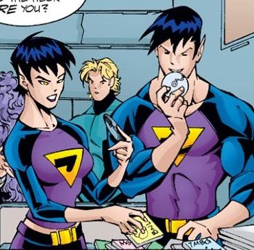 Wonder Twins (New Earth)