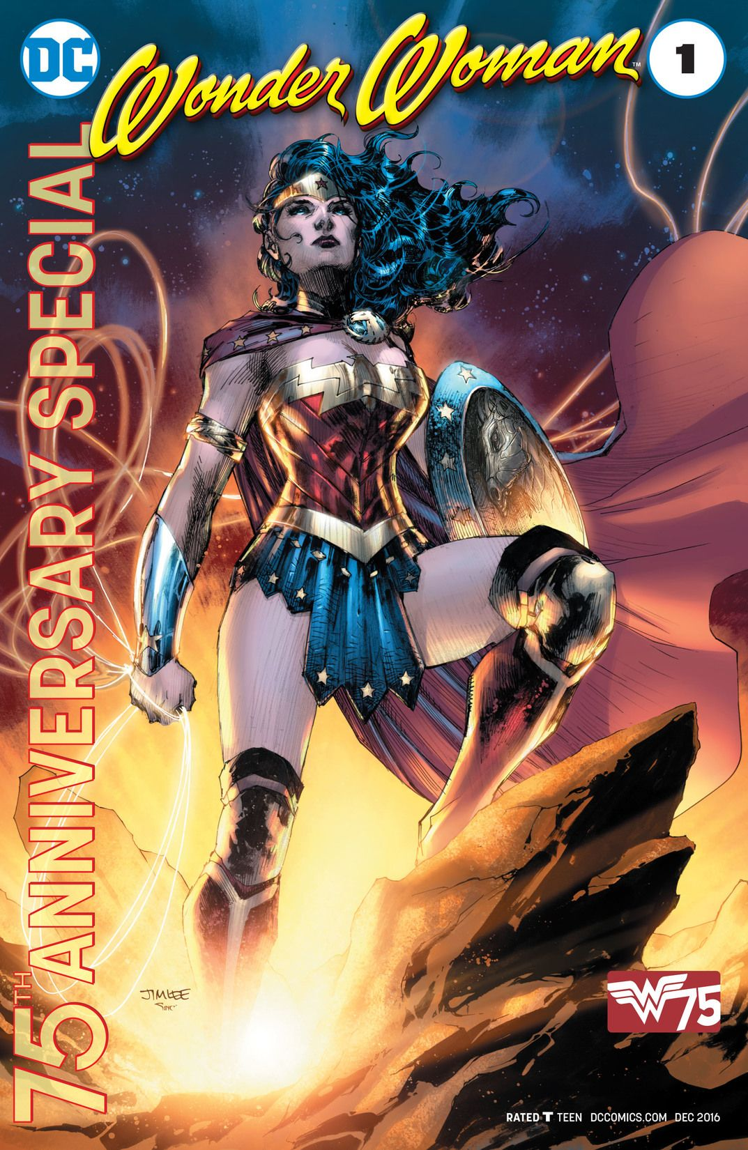 Wonder Woman 75th Anniversary Special Vol 1 1