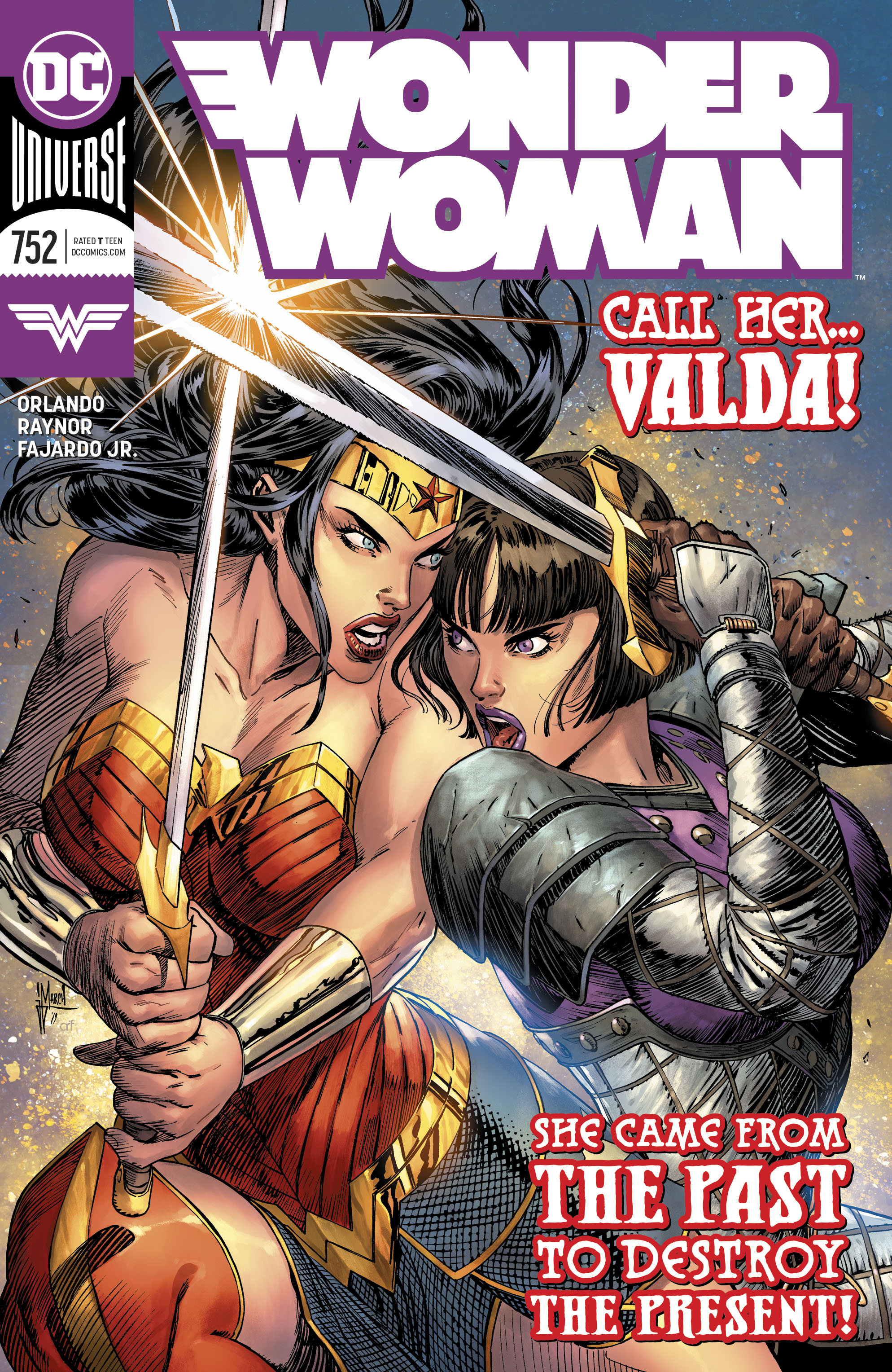 Wonder Woman Vol 1 752