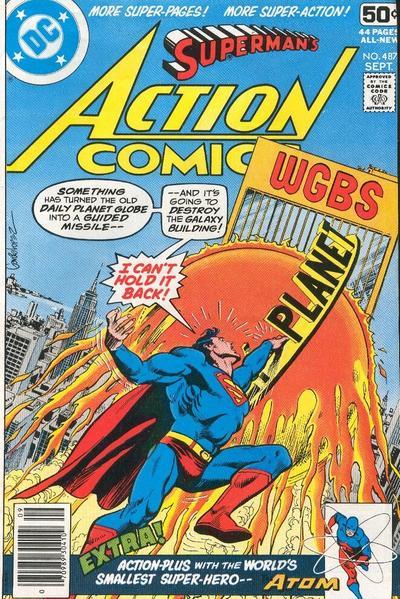 Action Comics Vol 1 487