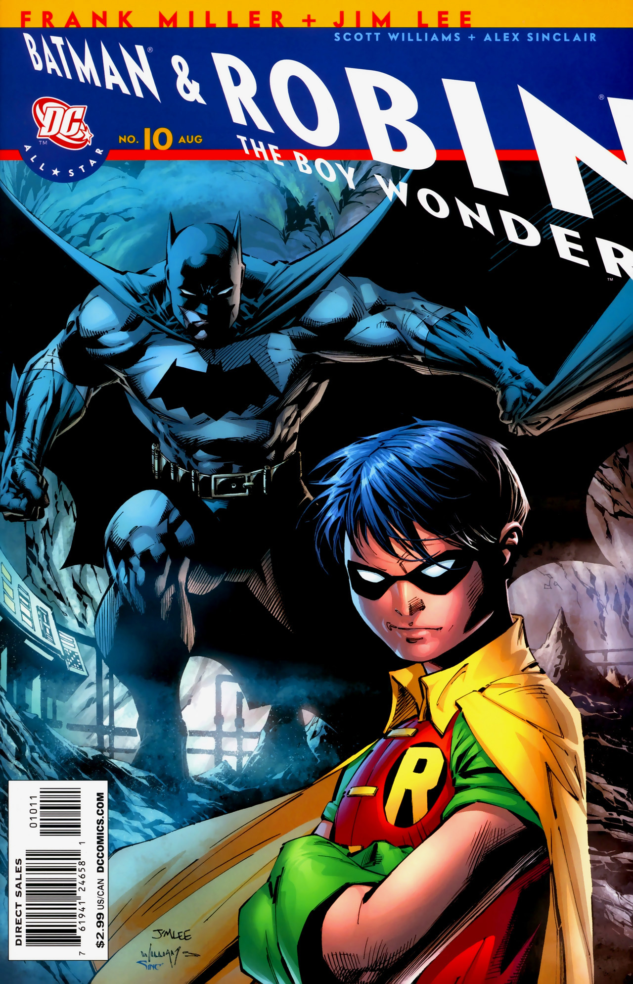 All Star Batman and Robin, the Boy Wonder Vol 1 10