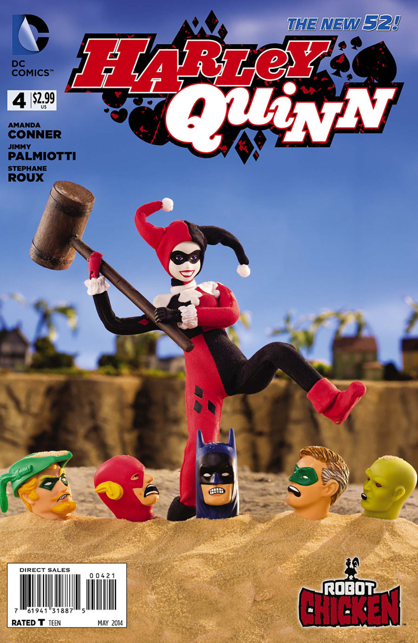 Harley Quinn Vol 2 4 Robot Chicken Variant.jpg