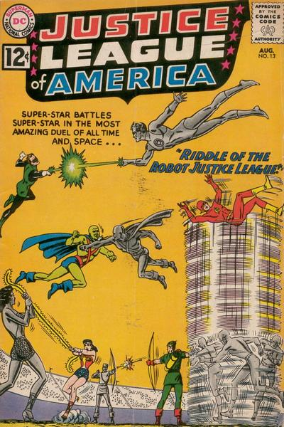Justice League of America Vol 1 13