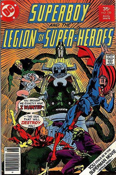 Superboy and the Legion of Super-Heroes Vol 1 230