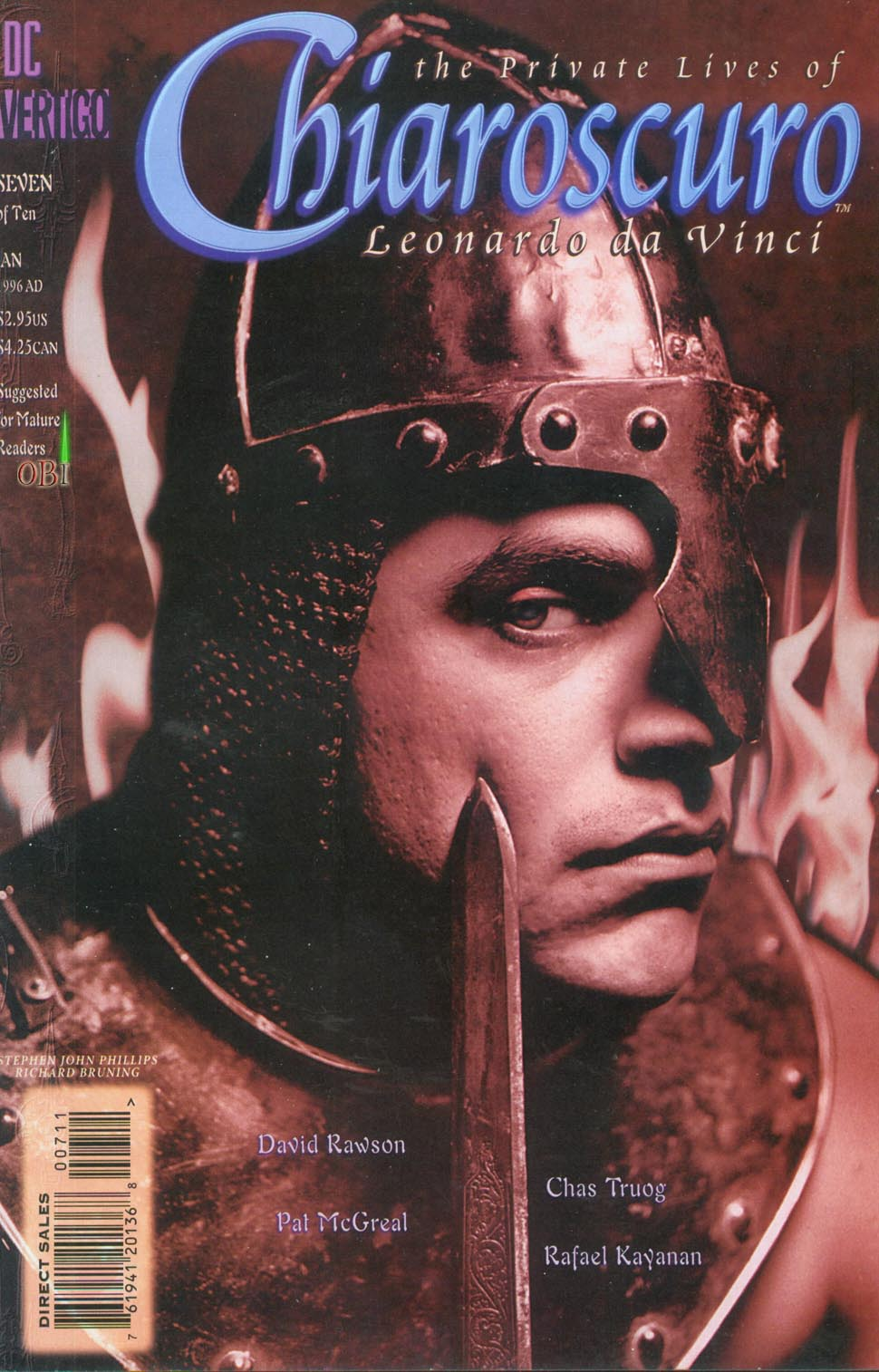 Chiaroscuro: The Private Lives of Leonardo da Vinci Vol 1 7