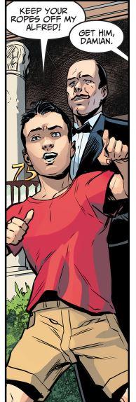 Damian Wayne (Injustice: Earth One)