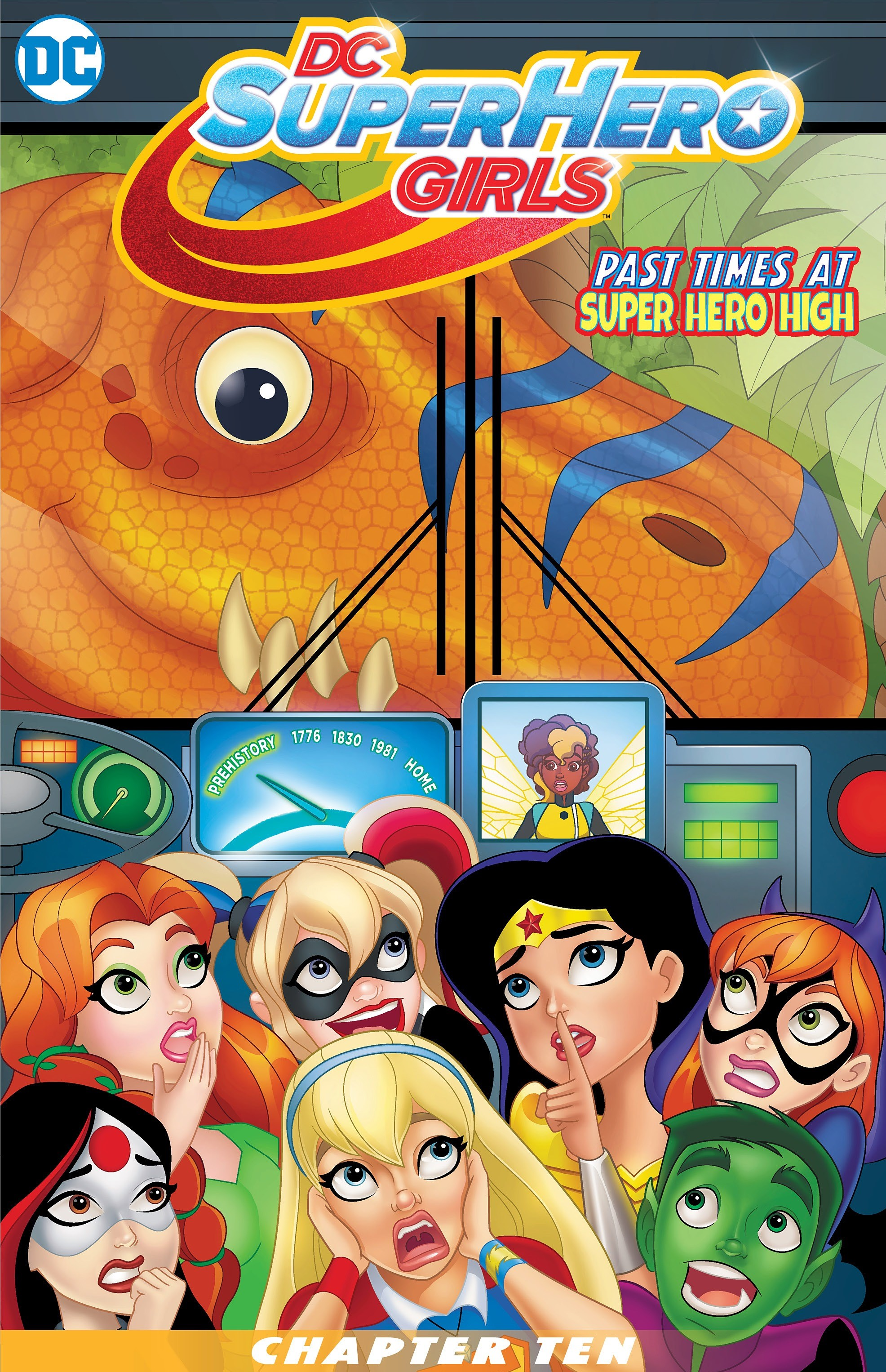 DC Super Hero Girls: Past Times at Super Hero High Vol 1 10 (Digital)